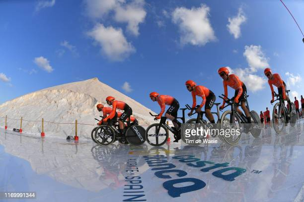 Start / Víctor de la Parte of Spain and CCC Team / William Barta of The United States and CCC Team / Pawel Bernas of Poland and CCC Team / Patrick...