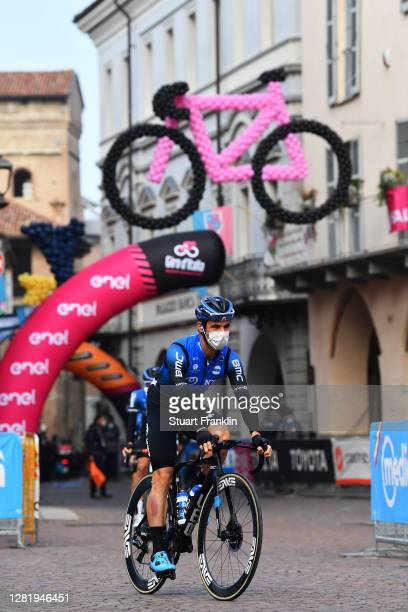 Start / Victor Campenaerts of Belgium and NTT Pro Cycling Team / Alba Village / during the 103rd Giro d'Italia 2020, Stage 20 a 190km stage from Alba...
