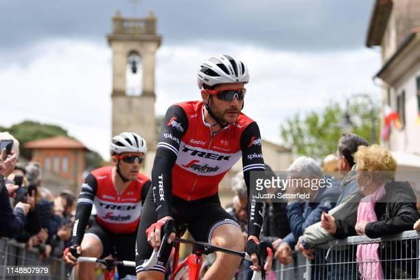 Start / William Clarke of Australia and Team Trek - Segafredo / during the 102nd Giro d'Italia 2019, Stage 3 a 220km stage from Vinci to Orbetello /...