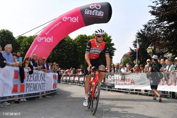 Start / William Clarke of Australia and Team Trek - Segafredo / Pinerolo City / during the 102nd Giro d'Italia 2019, Stage 13 a 196km stage from...