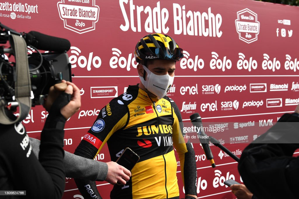 Eroica - 15th Strade Bianche 2021 - Men's Elite : ニュース写真
