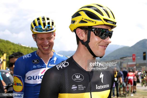 Start / Yves Lampaert of Belgium and Team QuickStep Floors / during the 105th Tour de France 2018 / Stage 10 a 1585km stage from Annecy to Le...