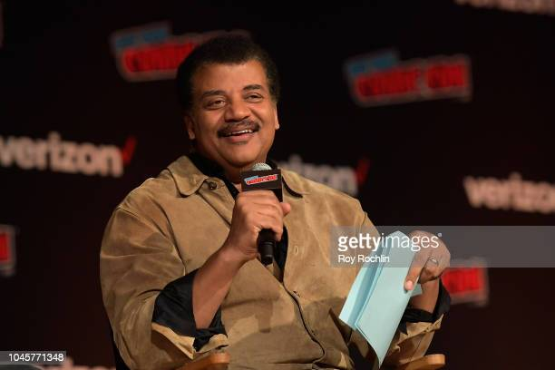 StarTalk @ New York Comic Con, Hosted by Neil deGrasse Tyson at Javits Center on October 4, 2018 in New York City.