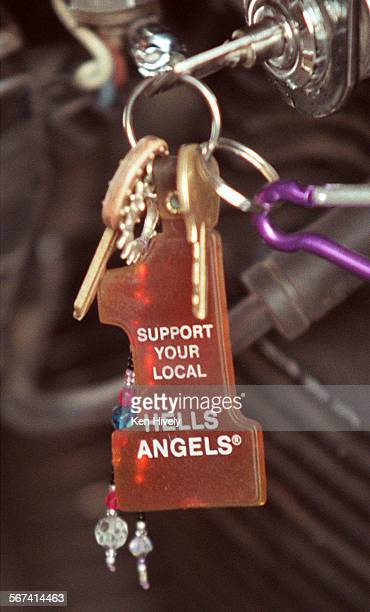BARGER started the Oakland chapter of the Hell's Angels in the 60's and 70's and gave them their rep as outlaws Photo detail of key chain on Sonny's...
