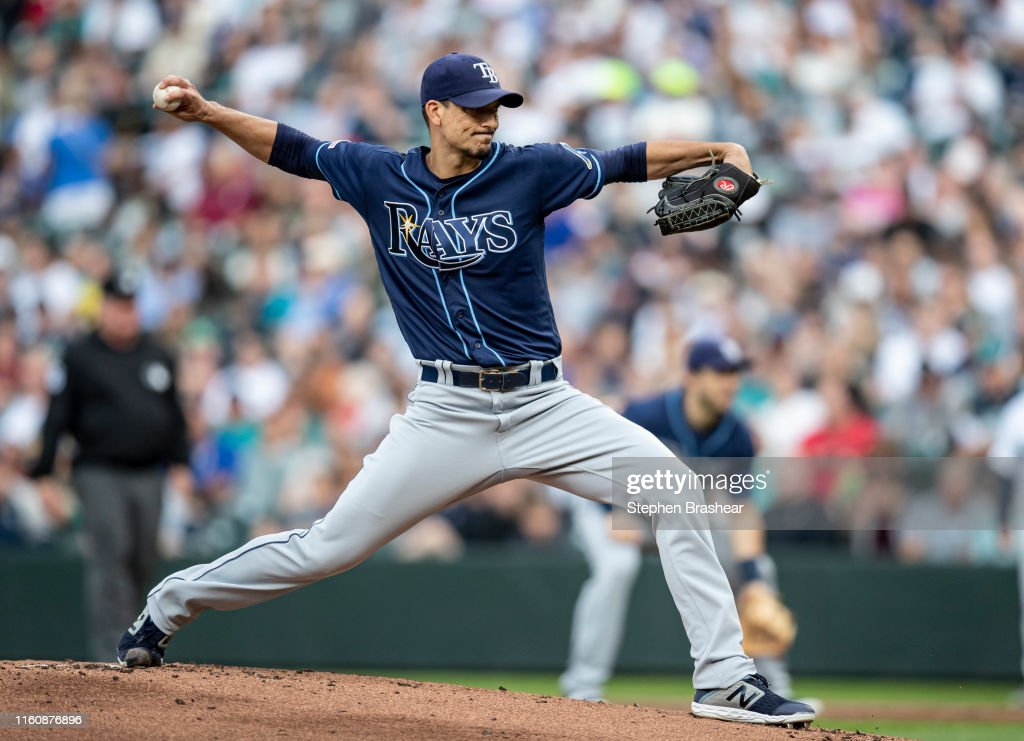 Tampa Bay Rays v Seattle Mariners : Photo d'actualité