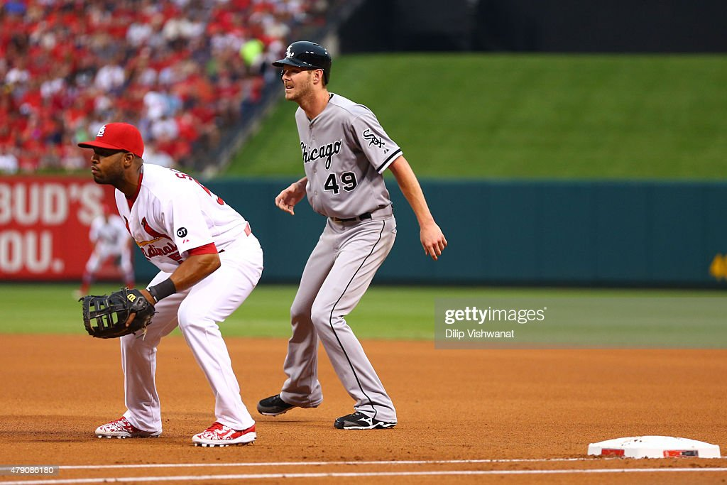 Chicago White Sox v St Louis Cardinals : News Photo