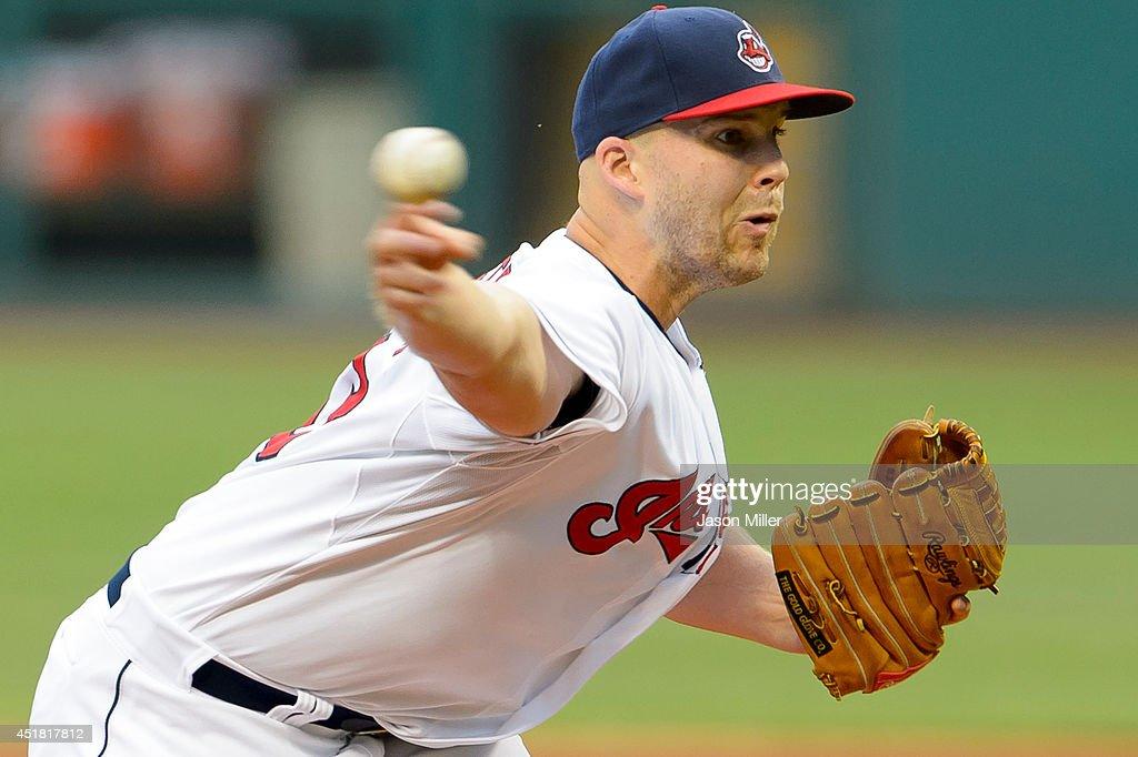New York Yankees v Cleveland Indians : Fotografía de noticias