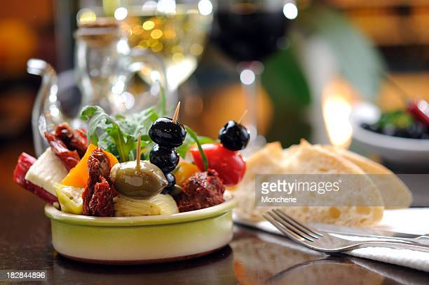 antipasti - tapas stock photos and pictures
