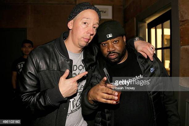 Starting From Scratch and Lord Finesse attend The Beatnuts Performence At The Den At Nest at Nest on October 30 2015 in Toronto Canada