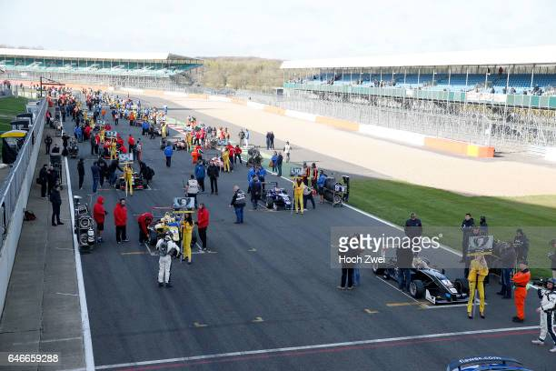 Starting grid FIA Formula 3 European Championship round 1 race 3 Silverstone 10 12 April 2015