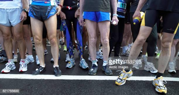 Starting Line at Reykjavik Marathon