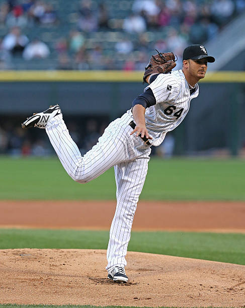 Andre Rienzo of the Chicago White Sox