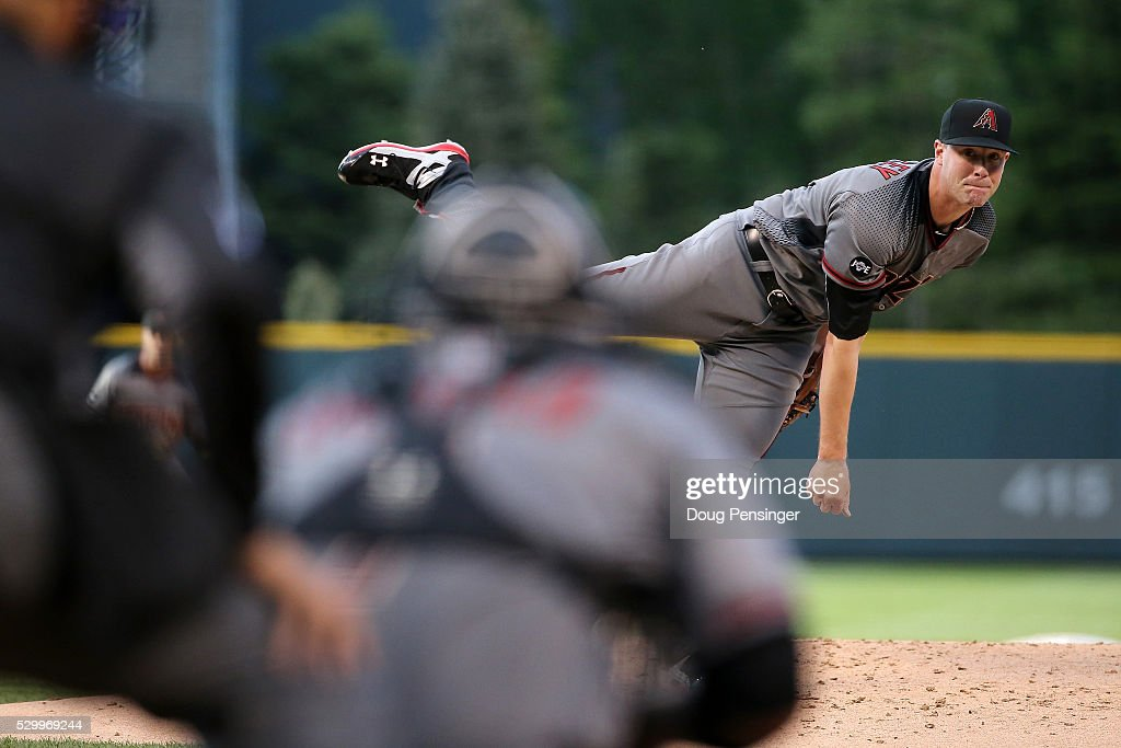 Arizona Diamondbacks v Colorado Rockies : News Photo