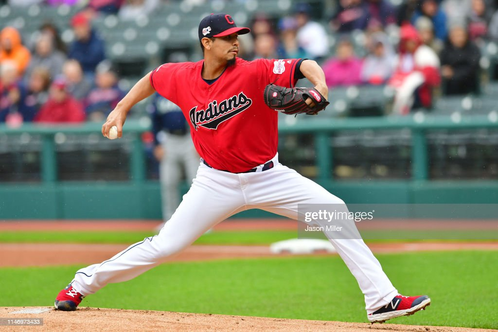Seattle Mariners v Cleveland Indians : News Photo