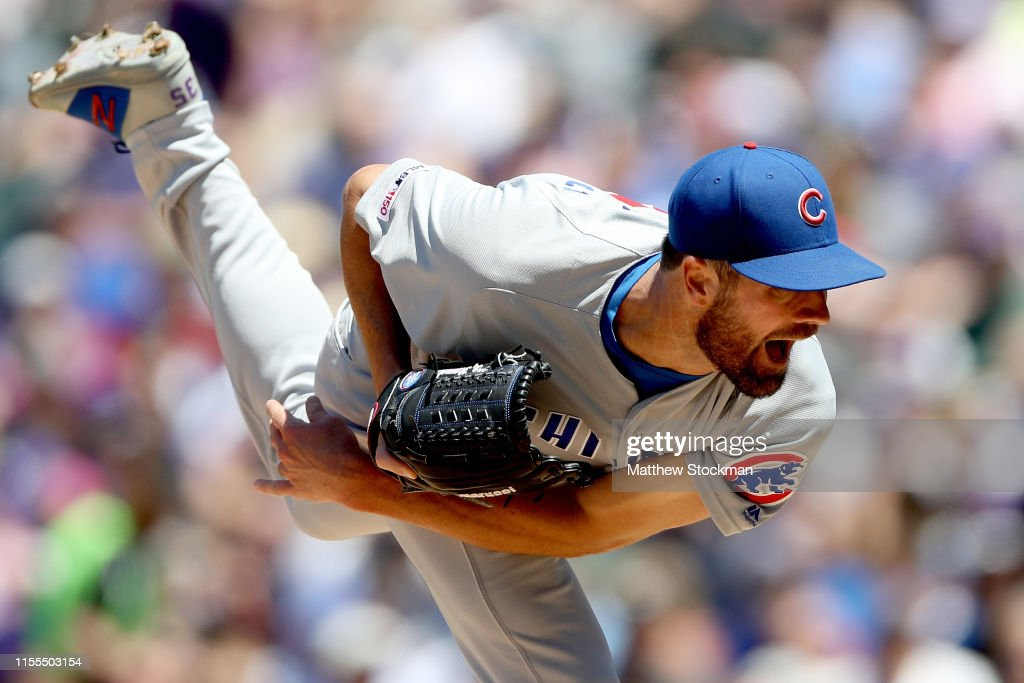 Chicago Cubs v Colorado Rockies : News Photo