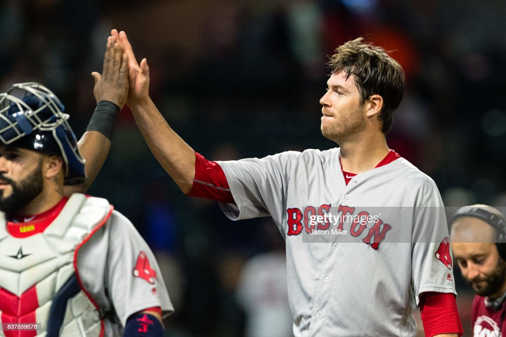 Boston Red Sox v Cleveland Indians : News Photo