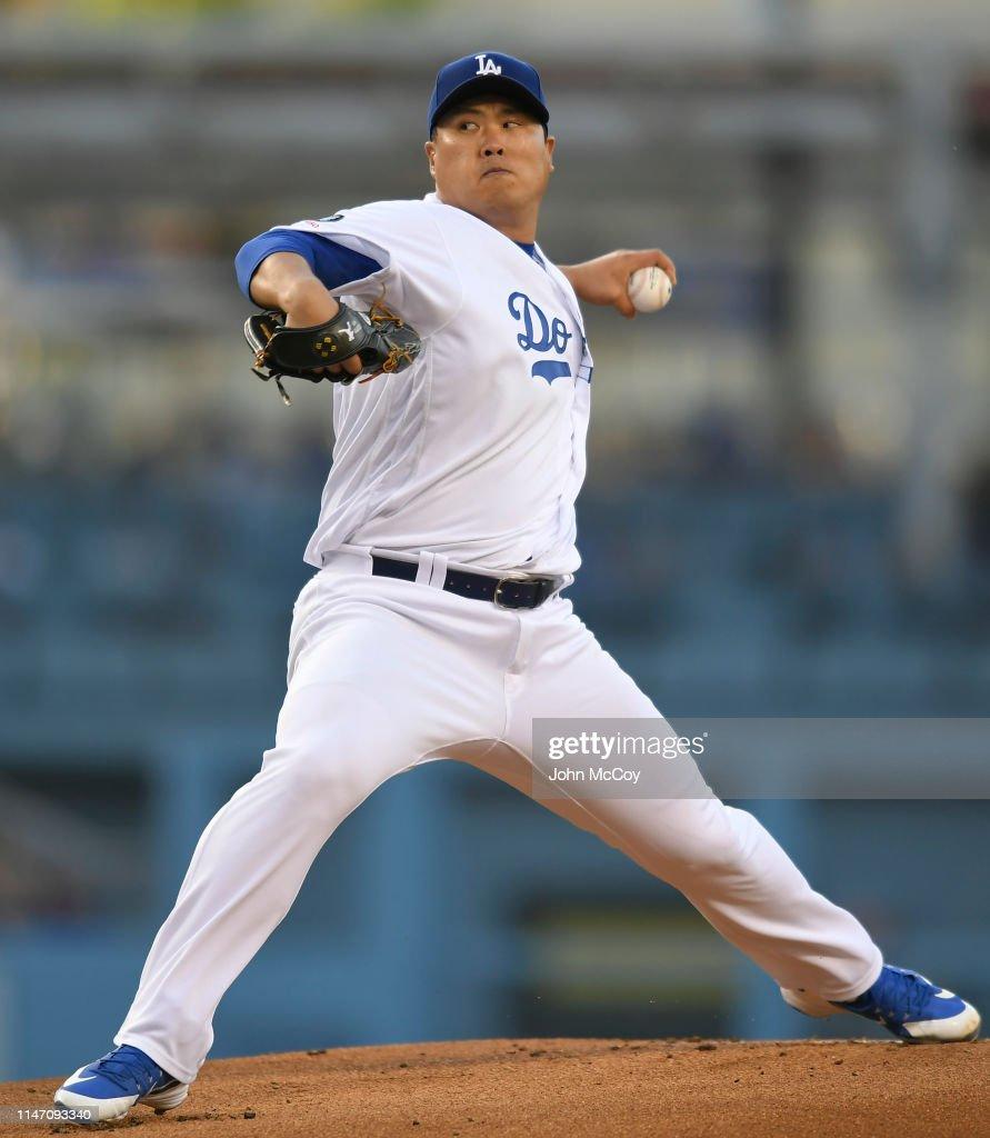 New York Mets v Los Angeles Dodgers : News Photo