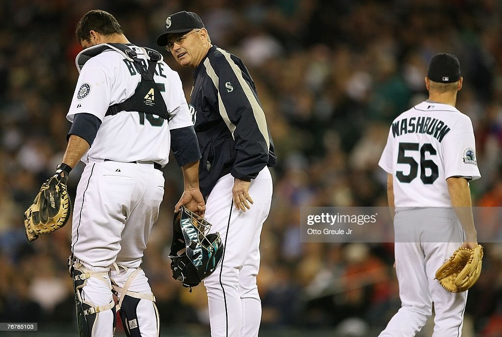 Tampa Bay Devil Rays v Seattle Mariners : News Photo