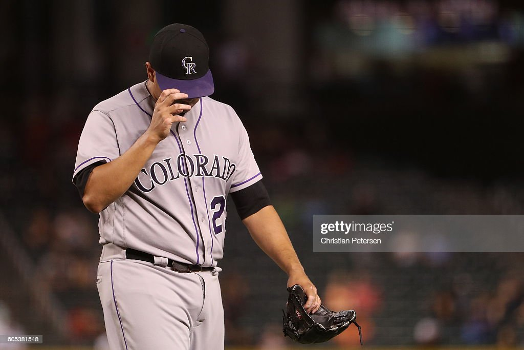 Colorado Rockies v Arizona Diamondbacks