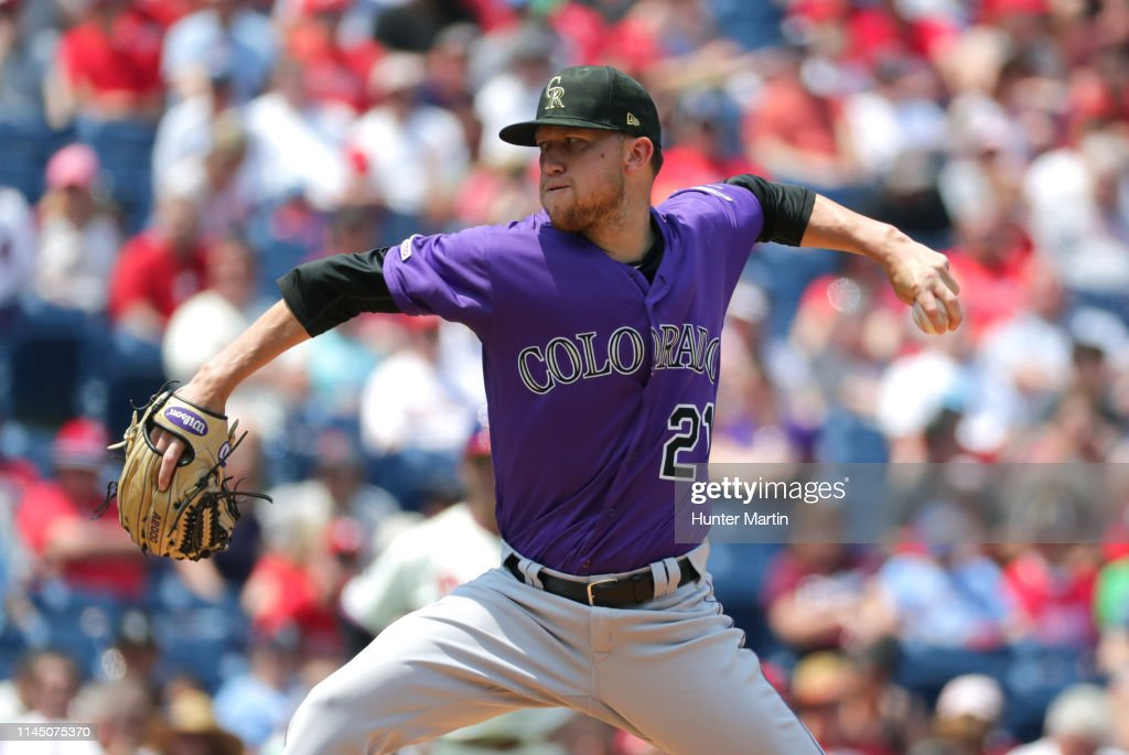 PA: Colorado Rockies v Philadelphia Phillies