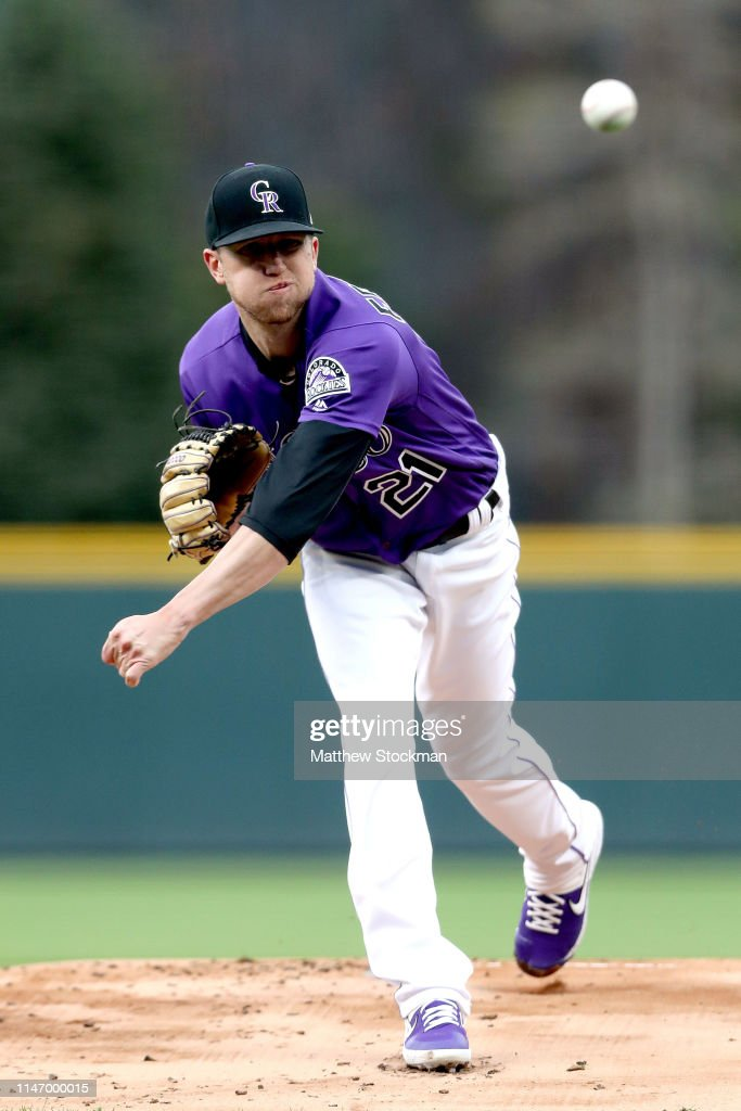 Starting pitcher Kyle Freeland of the Colorado Rockies