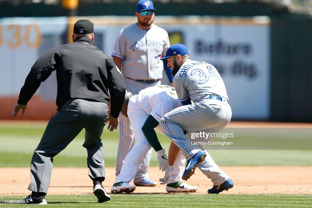 Toronto Blue Jays v Oakland Athletics : News Photo