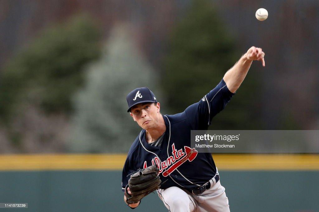 Atlanta Braves v Colorado Rockies : News Photo