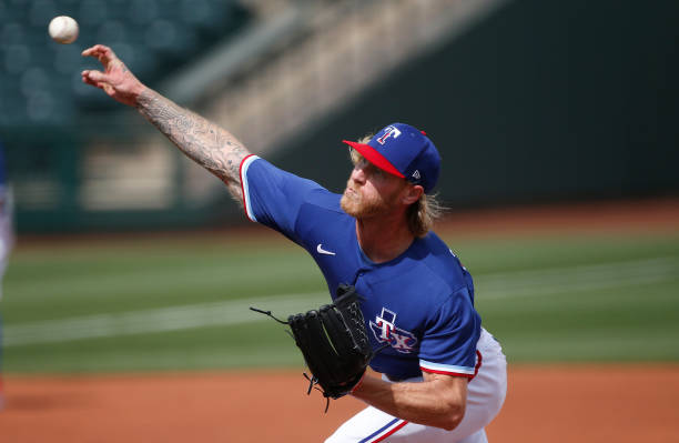 AZ: Los Angeles Dodgers v Texas Rangers