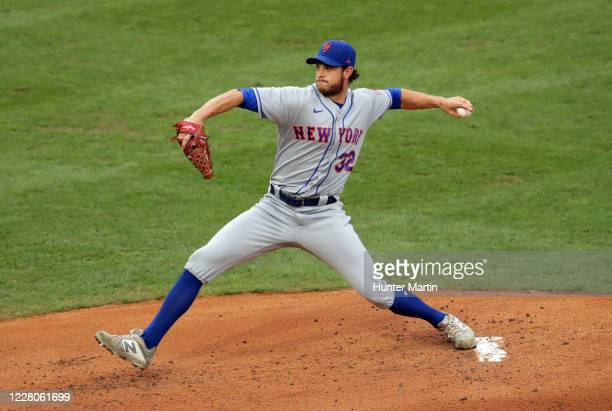 Starting pitcher Steven Matz of the New York Mets throws a pitch in the first inning during a game against the Philadelphia Phillies at Citizens Bank...