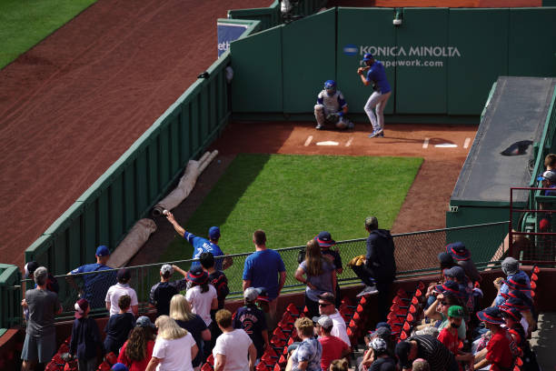 MA: Toronto Blue Jays v Boston Red Sox