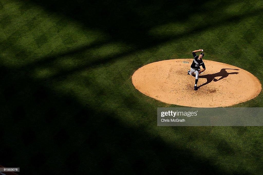 Colorado Rockies v Philadelphia Phillies, Game 1