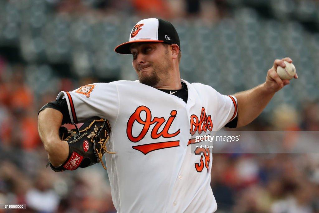 Texas Rangers v Baltimore Orioles : News Photo