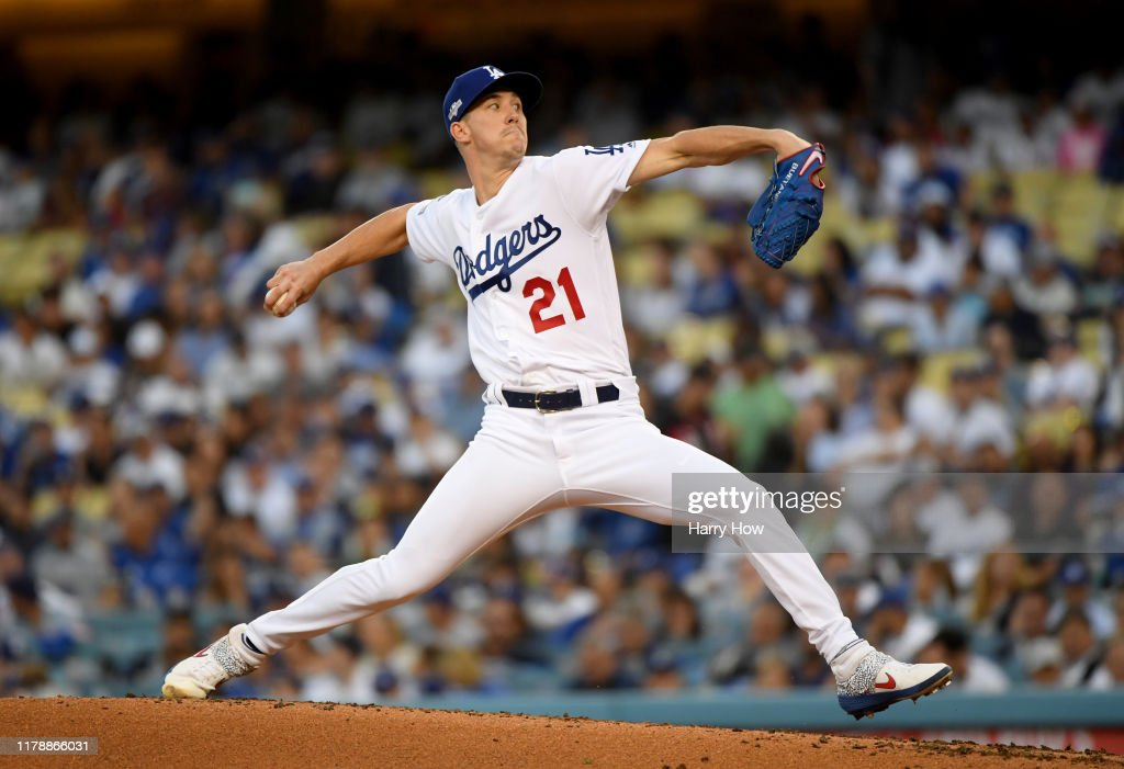 Divisional Series - Washington Nationals v Los Angeles Dodgers - Game One : News Photo