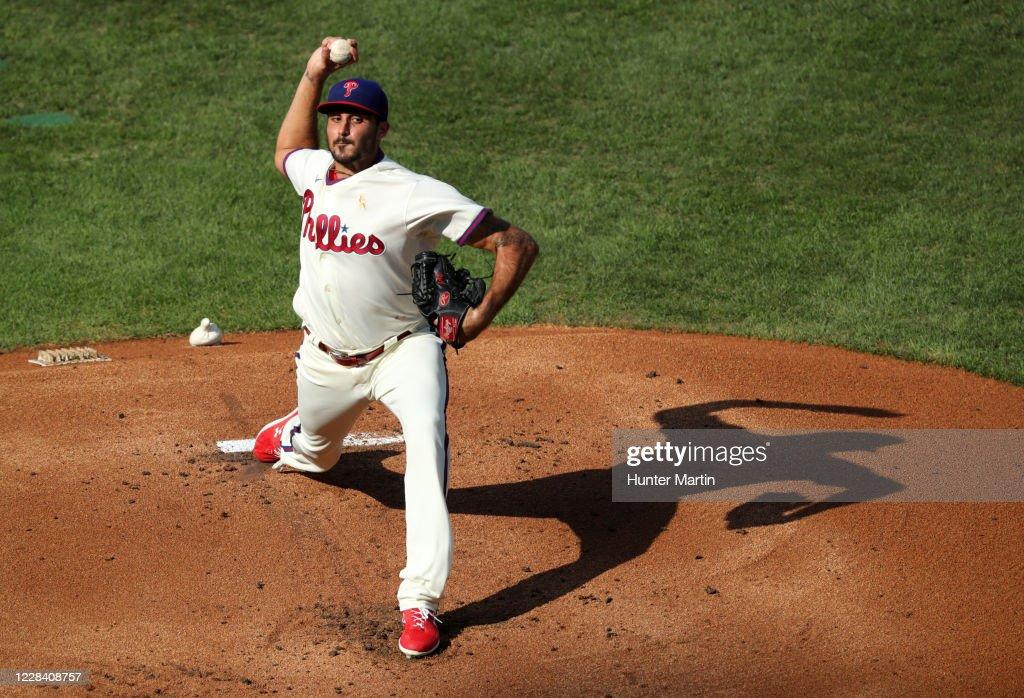 Boston Red Sox v Philadelphia Phillies - Game One : News Photo