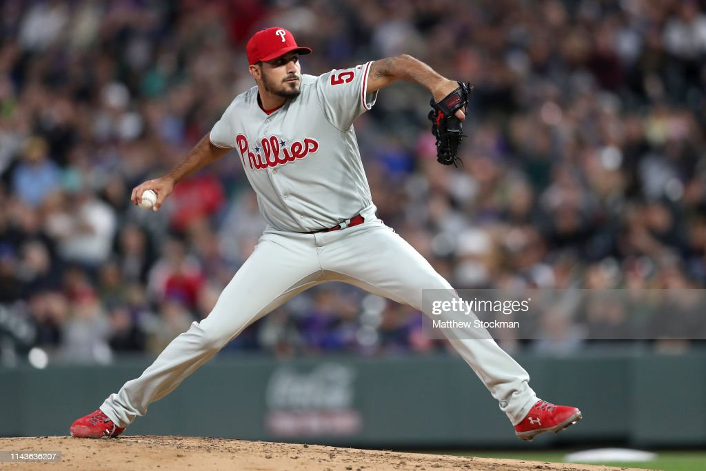 Philadelphia Phillies v Colorado Rockies : News Photo
