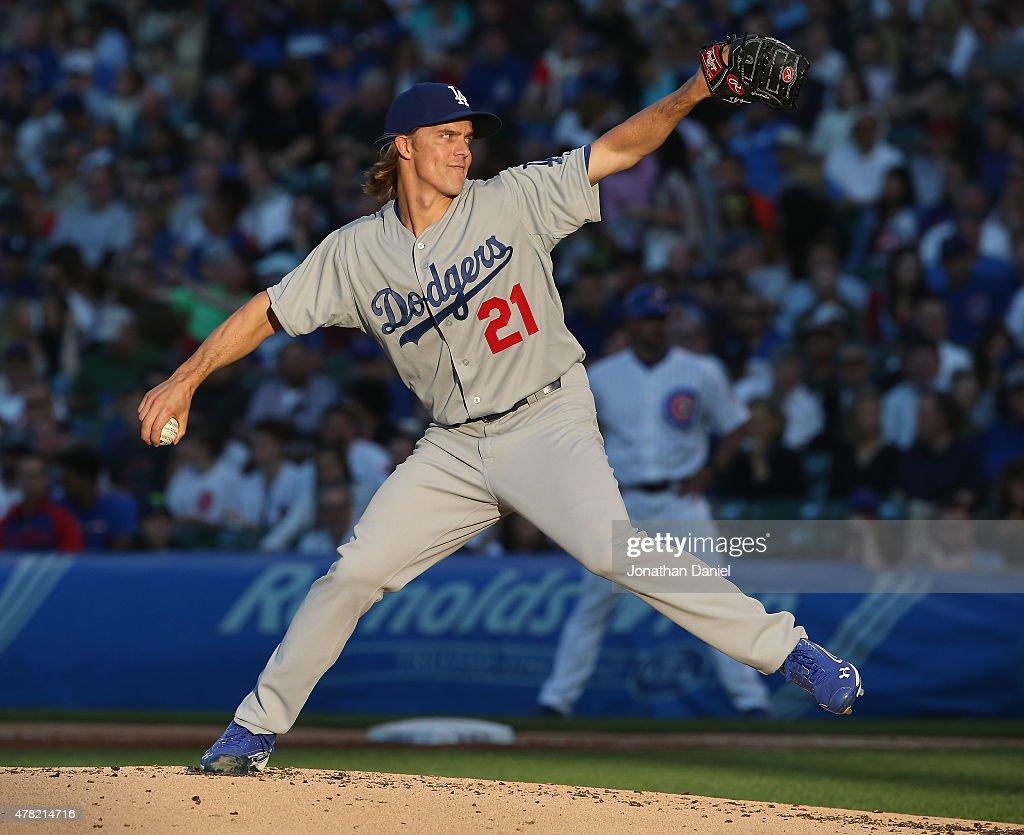 Los Angeles Dodgers v Chicago Cubs