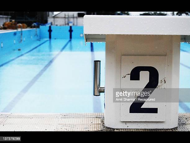 Starting platform pool
