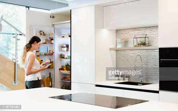 starting the day of right - domestic kitchen stock pictures, royalty-free photos & images