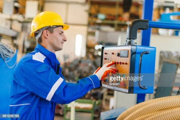 Starting the engines and production line process