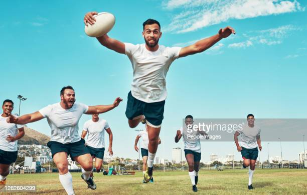 starting the rugby season off with a bang - try scoring stock pictures, royalty-free photos & images