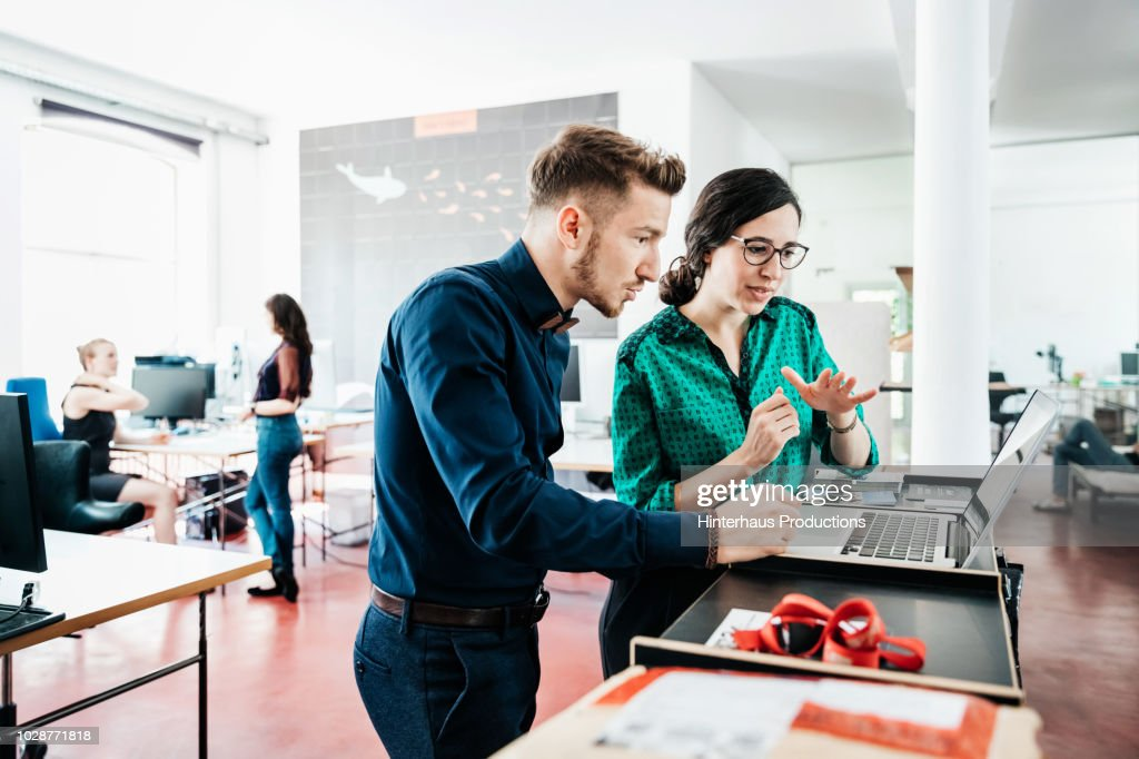 Startup Business Employees Working At The Office : Stock-Foto