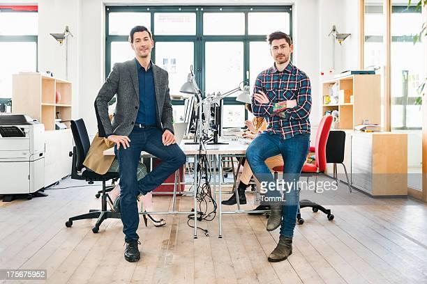 Start-up-Team im Büro