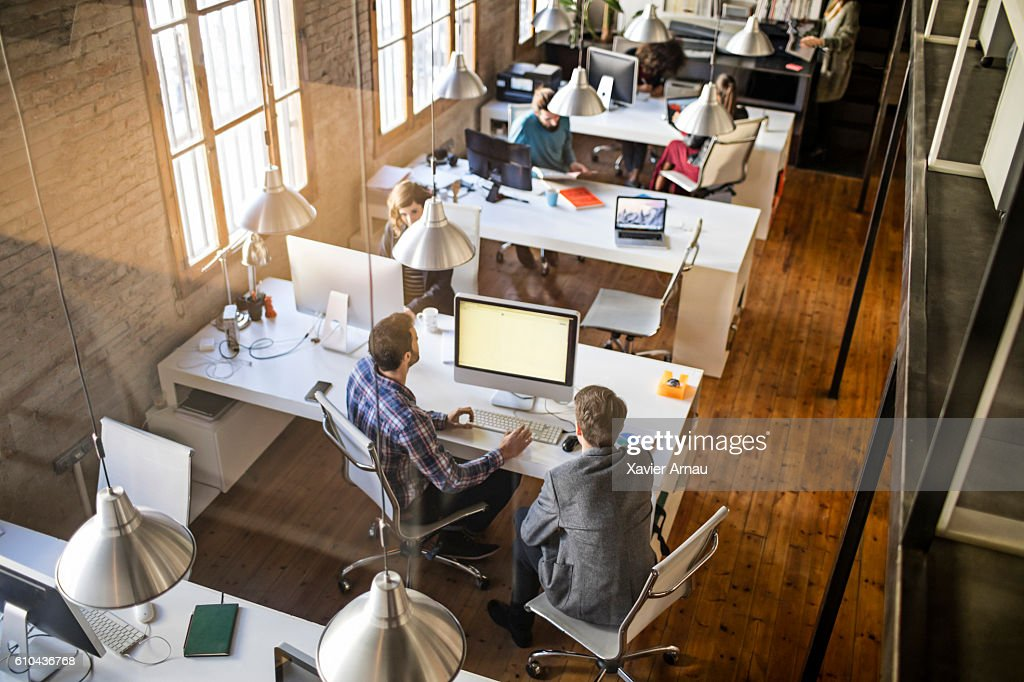 Startup office : Stock Photo