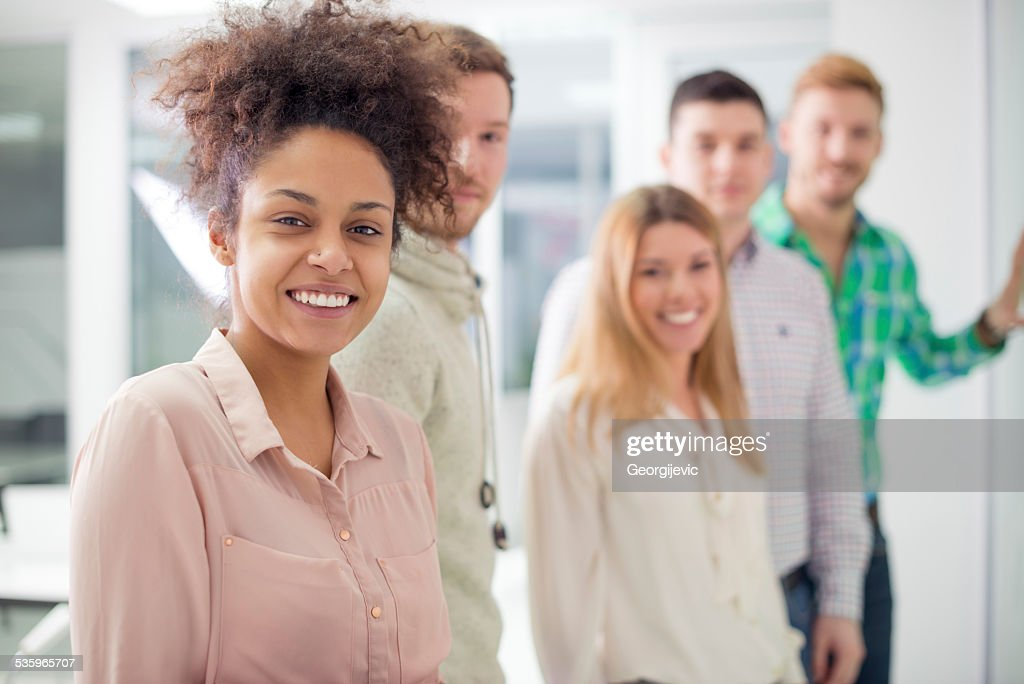 Start-up team : Stock Photo
