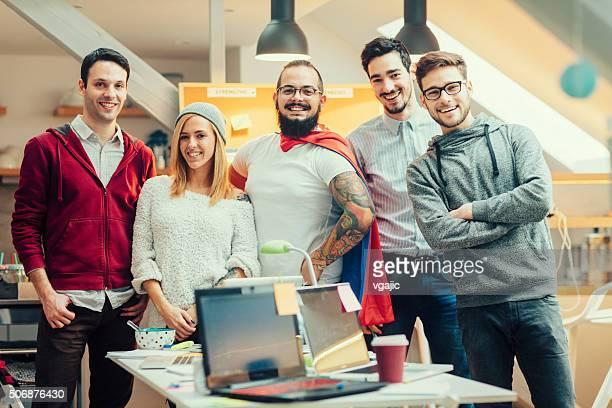 StartUp Team Portrait.