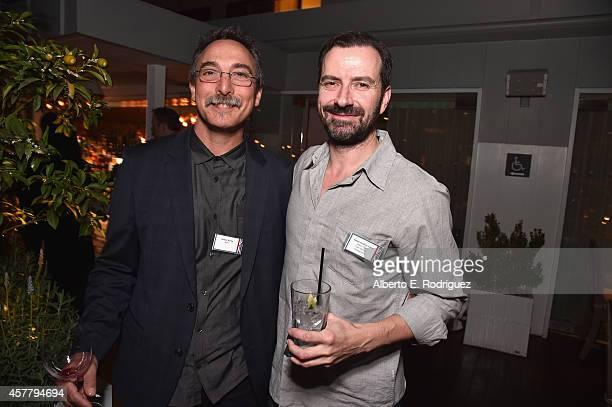 Starz's Richter Hartig and Future Films Zero Gravitiy Entertainments' Simon Graham-Clare attend a British Film Commission UK Film & TV Week industry...