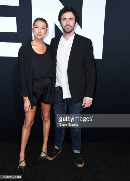 Stassi Schroeder arrives at the Universal Pictures' Halloween Premiere at TCL Chinese Theatre on October 17 2018 in Hollywood California