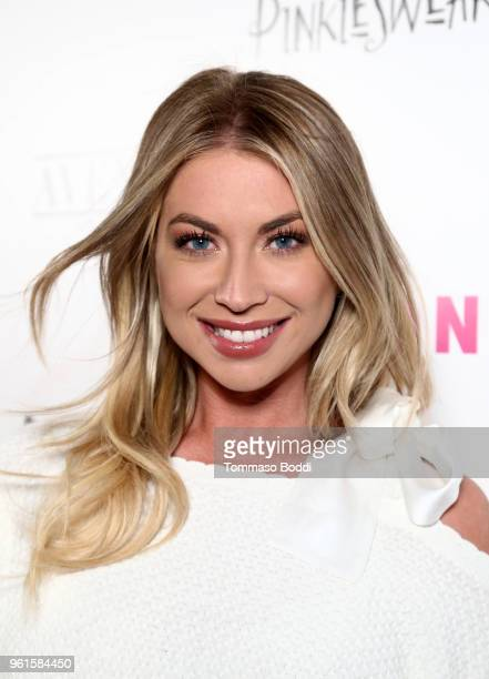 Stassi Schroeder attends NYLON's Annual Young Hollywood Party sponsored by Pinkie Swear at Avenue Los Angeles on May 22 2018 in Hollywood California