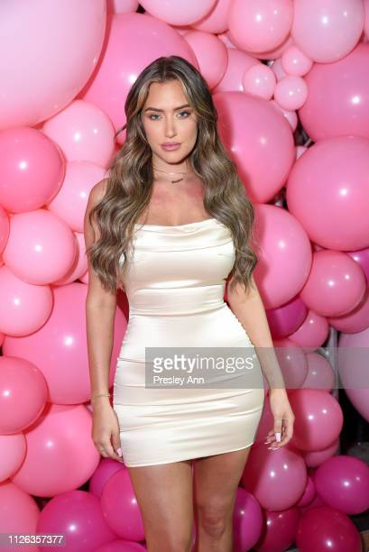 Stassie Karanikolaou attends Anastasia Karanikolaou For Oh Polly Valentine's Day Launch at Poppy on January 30 2019 in Los Angeles California