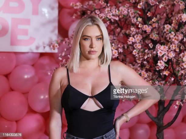 Stassie Karanikolaou attends the Booby Tape USA launch party at Stanley Social on July 25 2019 in Los Angeles California